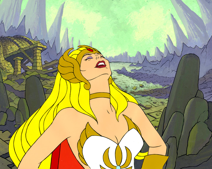 Autographed She-Ra Laughter Print