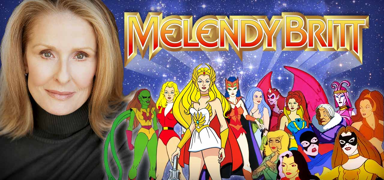 1 Melendy Britt – Voice of Heroines (and a few villains, too!)